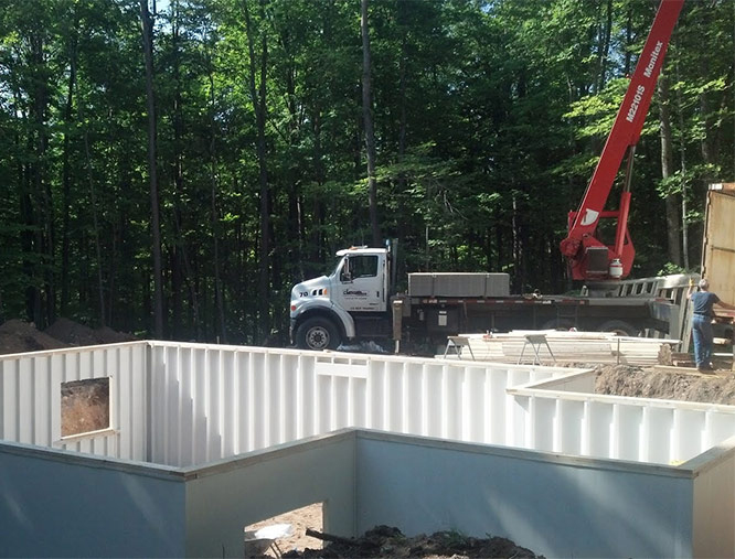 Composite Foundation Walls : Epitome quality foundation walls cornerstone custom
